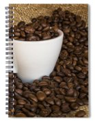 Cup Of Coffee Spiral Notebook