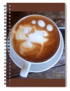 Cup Of Fish Spiral Notebook