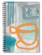 Cup Of Happiness Spiral Notebook