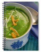 Cup Of Soup Spiral Notebook