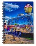 Cupcake Food Trailer Spiral Notebook