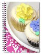 Cupcakes On A Plate Spiral Notebook