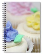 Cupcakes Shallow Depth Of Field Spiral Notebook