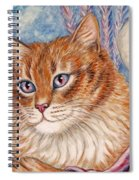 Cupid Kitty Spiral Notebook
