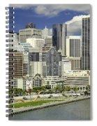 Cupid's Span Waterfront San Francisco Spiral Notebook
