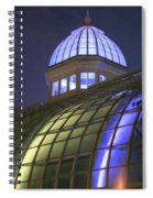 Cupola At Night Spiral Notebook