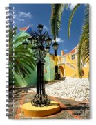 Curacao Colorful Architecture Spiral Notebook