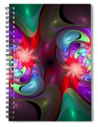 Curbisme-37-b Spiral Notebook