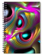 Curbisme-77 Spiral Notebook