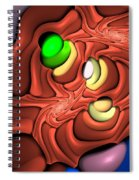 Curbisme-81 Spiral Notebook
