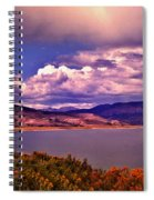 Curecanti Autumn Blue Mesa Colorado Spiral Notebook