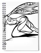 Curious Fairy 1 Spiral Notebook