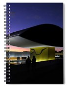 Curitiba - Museu Oscar Niemeyer Spiral Notebook