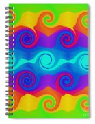 Curly Q 2 Spiral Notebook