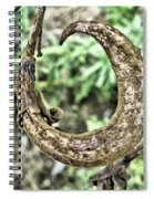 Curly Spiral Notebook
