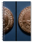 Currency: U.s. Coin, 1787 Spiral Notebook