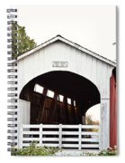 Currin Covered Bridge Spiral Notebook