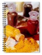 Curry Powder Spiral Notebook