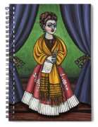 Curtains For Frida Spiral Notebook