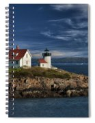 Curtis Island Lighthouse Maine Img 5988 Spiral Notebook