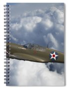 Curtiss P-40 Warhawk Flying Tigers Spiral Notebook