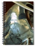Curtiss-wright Cw-22 Monoplane Spiral Notebook