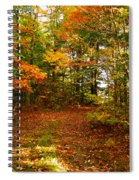 Curve Ahead Spiral Notebook