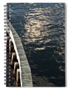 Curved Fender Las Olas Drawbridge Fort Lauderdale Florida Spiral Notebook
