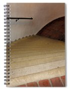Curved Stairway At Brandywine River Museum Spiral Notebook