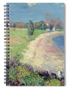 Curving Beach Spiral Notebook