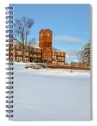 Cushing Academy In Winter Spiral Notebook