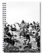 Custer's Last Fight, 1876 Spiral Notebook