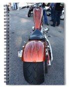 Custom Bike Spiral Notebook