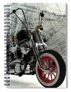 Custom Bobber Spiral Notebook