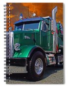 Custom Gravel Truck Catr0278-12 Spiral Notebook
