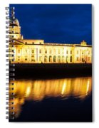 Custom House And International Financial Services Centre Spiral Notebook