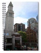 Custom House - Boston Spiral Notebook