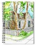 House Portrait Sample Spiral Notebook