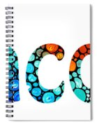 Customized Baby Kids Adults Pets Names - Jacob 2 Name Spiral Notebook