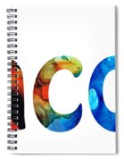 Customized Baby Kids Adults Pets Names - Jacob 5 Name Spiral Notebook