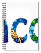 Customized Baby Kids Adults Pets Names - Jacob Name Spiral Notebook
