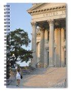 Customs House Steps Spiral Notebook