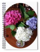 Cut Hydrangeas Spiral Notebook