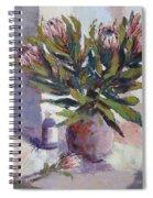 Cut Proteas Spiral Notebook