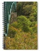 Cut River Bridge 1 A Spiral Notebook