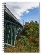 Cut River Bridge 1 C Spiral Notebook