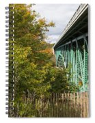 Cut River Bridge 2 Spiral Notebook