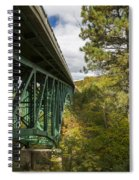 Cut River Bridge 3 A Spiral Notebook