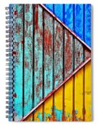 Cut Up Spiral Notebook