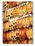 Cute Clogs Spiral Notebook